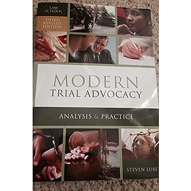 MODERN TRIAL ADVOCACY-LAW SCHO, Used Book, (9781601563323)