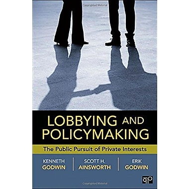 Lobbying and Policymaking, New Book, (9781604264692)