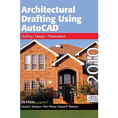 Architectural Drafting Using AutoCAD 2010, New Book, (9781605251875)