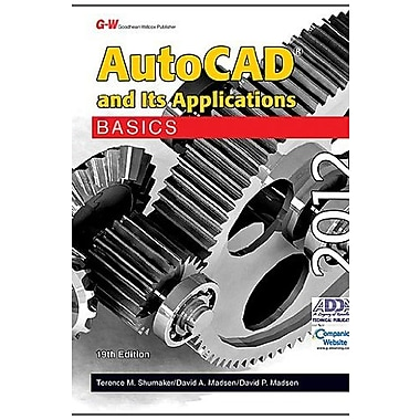 AutoCAD and Its Applications Basics 2012, Used Book, (9781605255613)