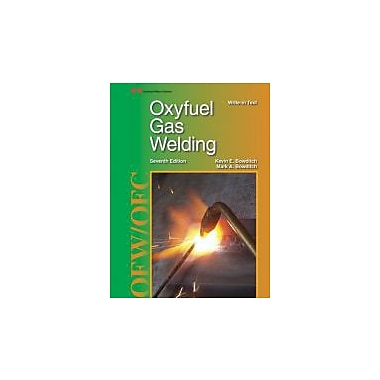 Oxyfuel Gas Welding, New Book, (9781605255743)