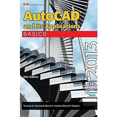 AutoCAD and Its Applications Basics 2013, New Book, (9781605259185)