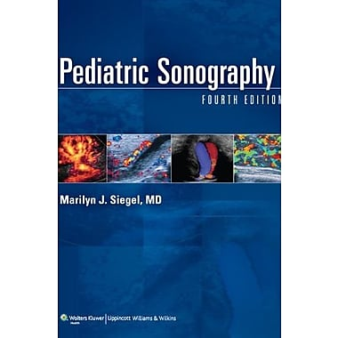 Pediatric Sonography, Used Book, (9781605476650)