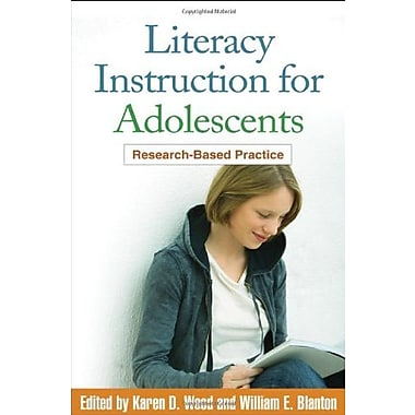 Literacy Instruction for Adolescents: Research-Based Practice, New Book, (9781606231180)