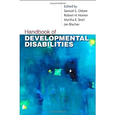 Handbook of Developmental Disabilities, New Book, (9781606232484)