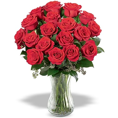 What a Bloom – Bouquet de 18 roses rouges