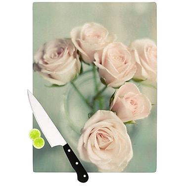 KESS InHouse Pink Romance by Cristina Mitchell Cutting Board; 0.5'' H x 15.75'' W x 11.5'' D