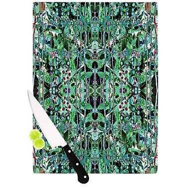 KESS InHouse Grun by Danii Pollehn Abstract Cutting Board; 0.5'' H x 15.75'' W x 11.5'' D