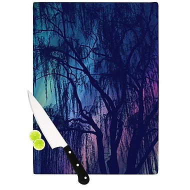 KESS InHouse Weeping by Robin Dickinson Tree Cutting Board; 0.5'' H x 11'' W x 7.5'' D