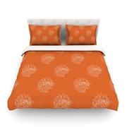 KESS InHouse Simpley Protea by Anneline Sophia Featherweight Duvet Cover; King/California King