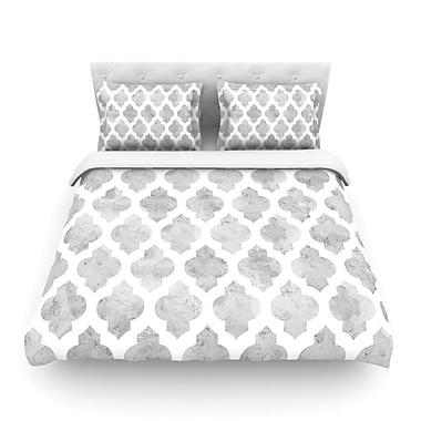 KESS InHouse Moroccan by Amanda Lane Featherweight Duvet Cover; Queen