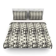 KESS InHouse Amanda Lane Abstract Abstract Featherweight Duvet Cover; Queen