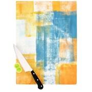 KESS InHouse Color Combo by CarolLynn Tice Cutting Board; 0.5'' H x 11'' W x 7.5'' D
