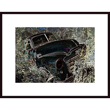 Printfinders 'Truck in Hiding' by John Nakata Framed Photographic Print