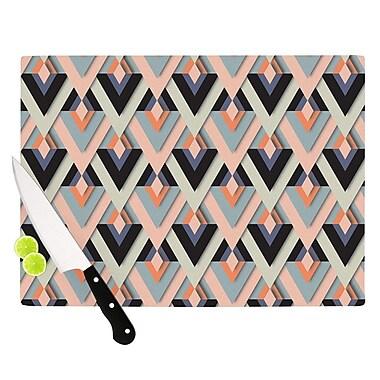 KESS InHouse Sweet & Sharp by Akwaflorell Cutting Board; 0.5'' H x 11'' W x 7.5'' D