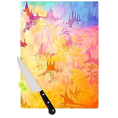 KESS InHouse Sky Risers II by Ebi Emporium Cutting Board; 0.5'' H x 15.75'' W x 11.5'' D