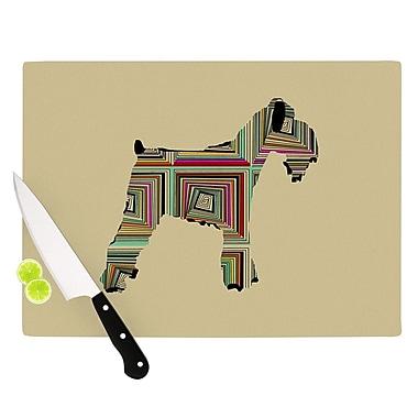 KESS InHouse Schuavzer by Bri Buckley Cutting Board; 0.5'' H x 15.75'' W x 11.5'' D