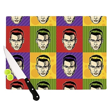 KESS InHouse Johnny Depop by Roberlan Pop Art Cutting Board; 0.5'' H x 15.75'' W x 11.5'' D
