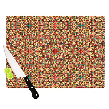 KESS InHouse Circus by Allison Soupcoff Cutting Board; 0.5'' H x 11'' W x 7.5'' D