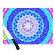 KESS InHouse Summer Colors by Iris Lehnhardt Cutting Board; 0.5'' H x 11'' W x 7.5'' D