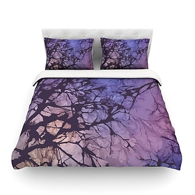 KESS InHouse Skies by Alison Coxon Featherweight Duvet Cover; Queen