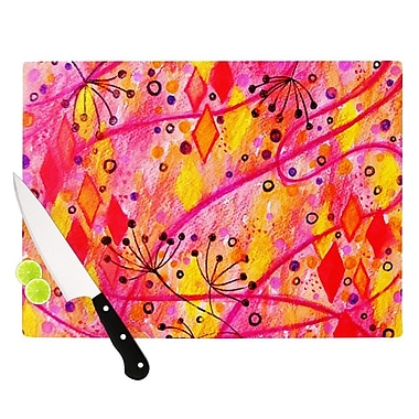 KESS InHouse Into the Fall by Ebi Emporium Cutting Board; 0.5'' H x 11'' W x 7.5'' D