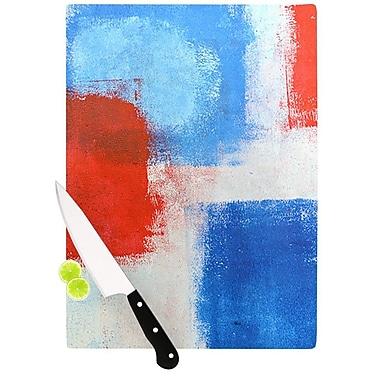 KESS InHouse The Colors by CarolLynn Tice Cutting Board; 0.5'' H x 11'' W x 7.5'' D