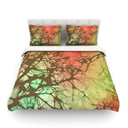 KESS InHouse Fire Skies by Alison Coxon Featherweight Duvet Cover; King/California King