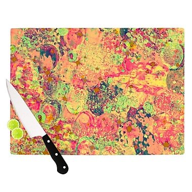 KESS InHouse Time For Bubbly by Ebi Emporium Cutting Board; 0.5'' H x 15.75'' W x 11.5'' D