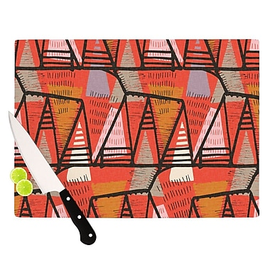 KESS InHouse Arnaud by Gill Eggleston Cutting Board; 0.5'' H x 11'' W x 7.5'' D