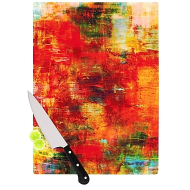 KESS InHouse Autumn Harvest by Ebi Emporium Cutting Board; 0.5'' H x 15.75'' W x 11.5'' D