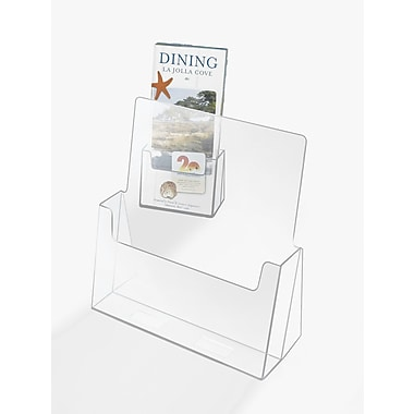Cal-Mil Brochure Rack; Large