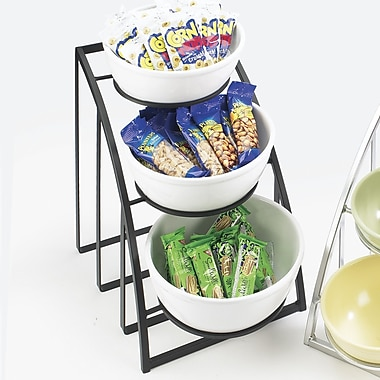 Cal-Mil Mission Round Bowl Rack
