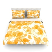 KESS InHouse Summer by Anchobee Featherweight Duvet Cover; Twin