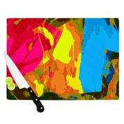 KESS InHouse Colored Plastic by Matthias Hennig Cutting Board; 0.5'' H x 11'' W x 7.5'' D