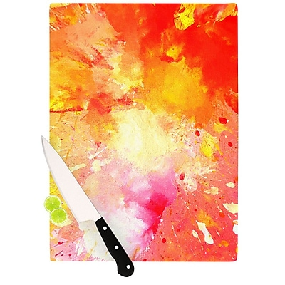 KESS InHouse Splash by CarolLynn Tice Cutting Board; 0.5'' H x 11'' W x 7.5'' D WYF078277492203