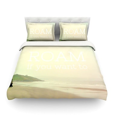 KESS InHouse Roam Light by Alison Coxon Featherweight Duvet Cover; King/California King