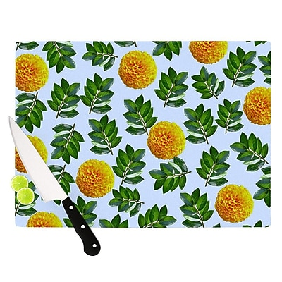 KESS InHouse More Marigold by Sreetama Ray Cutting Board; 0.5'' H x 11'' W x 7.5'' D WYF078277497011