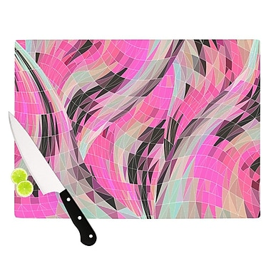 KESS InHouse La Verite by Danny Ivan Cutting Board; 0.5'' H x 15.75'' W x 11.5'' D