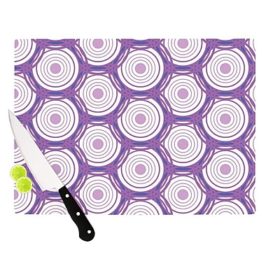 KESS InHouse Labyrinth by Louise Cutting Board; 0.5'' H x 11'' W x 7.5'' D