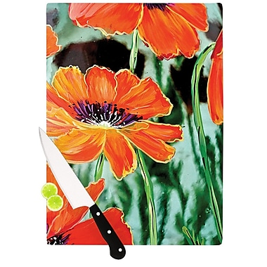 KESS InHouse Through the Looking Glass by Christen Treat Cutting Board; 0.5'' H x 11'' W x 7.5'' D