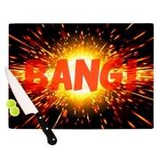 KESS InHouse Bang Cutting Board; 0.5'' H x 15.75'' W x 11.5'' D