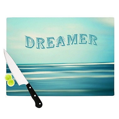 KESS InHouse Dreamer by Ann Barnes Cutting Board; 0.5'' H x 11'' W x 7.5'' D
