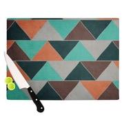 KESS InHouse Southwest by Catherine McDonald Cutting Board; 0.5'' H x 11'' W x 7.5'' D