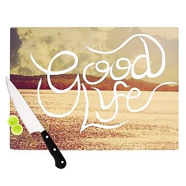 KESS InHouse Good Life by Rachel Burbee Cutting Board; 0.5'' H x 15.75'' W x 11.5'' D