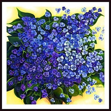 Printfinders 'Violet Sanctuary' by Debra Bucci Framed Print Painting