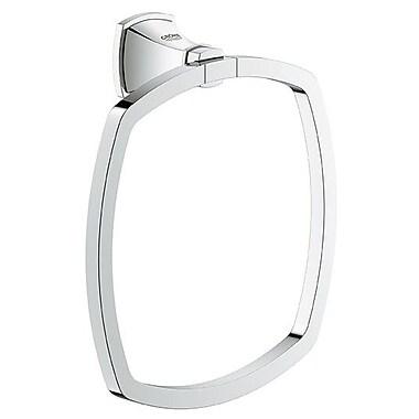 Grohe Grandera Wall Mounted Towel Ring; Chrome