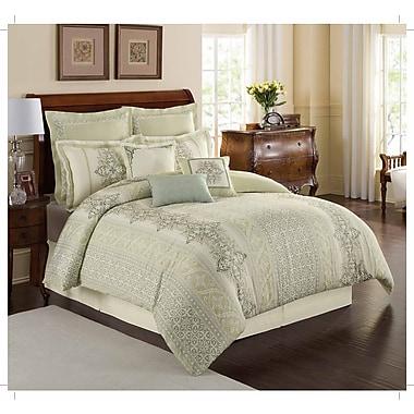 Royal Heritage Home Williamsburg Davenport Throw Pillow; 18'' H x 18'' W