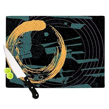 KESS InHouse Weekend by Micah Sager Cutting Board; 0.5'' H x 11'' W x 7.5'' D