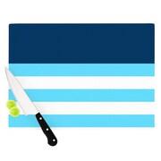 KESS InHouse Nauticki Blue by Trebam Cutting Board; 0.5'' H x 11'' W x 7.5'' D